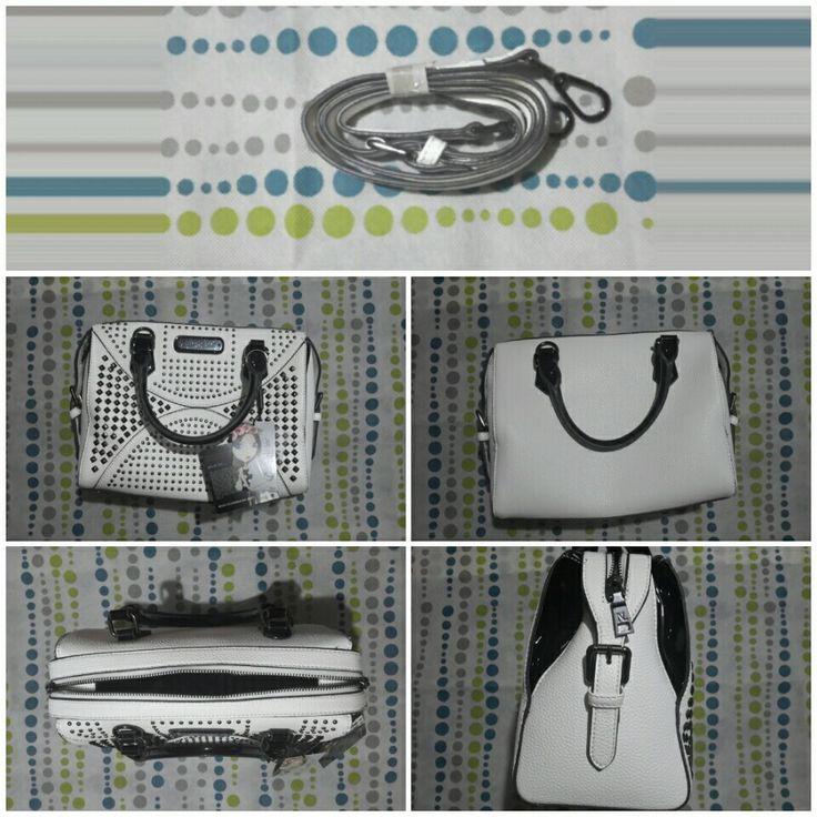 Reseña bolso blanco con estoperoles o taches Nicole Lee https://youtu.be/o42zx7H97mU