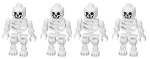 Skeleton (Swivel Arms) 4-Pack - LEGO Prince of Persia Minifigure by LEGO. $20.95. lego. Lego minifigure toy (set of 4)