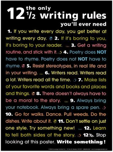 How to Write a Blog Post: The Only 12 1/2 Writing Rules You'll Ever Need