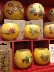 Honeypots....beeswax luminaries made in Athens, Ga
