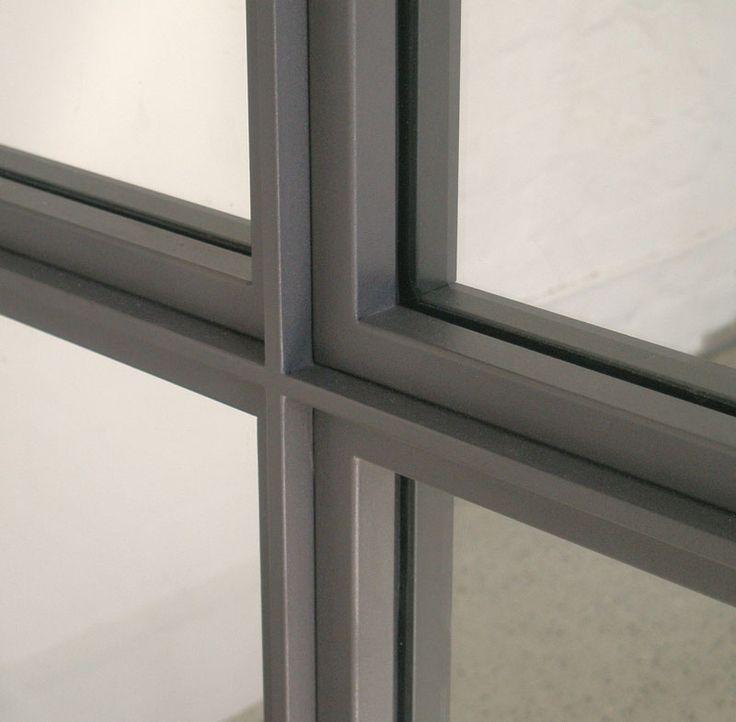 8punkt8 » Archiv » Stahl- Glaswand Glogauerstr.
