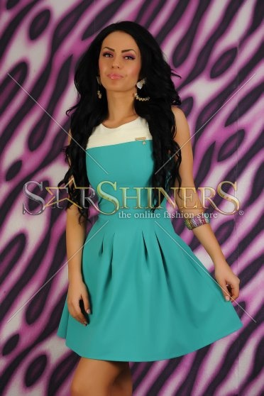 Rochie PrettyGirl Dual Turquoise
