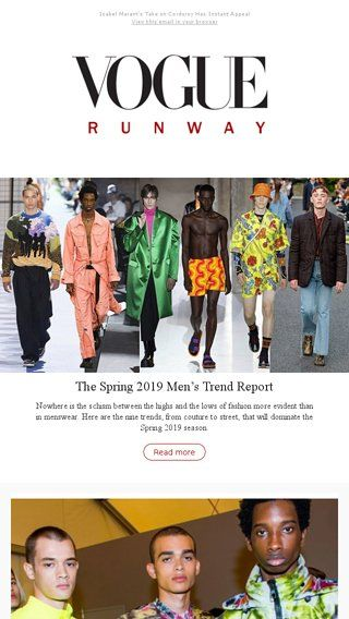 4a8f3ef5899f The Biggest Trends of Spring 2019 Menswear - Vogue Email Archive ...