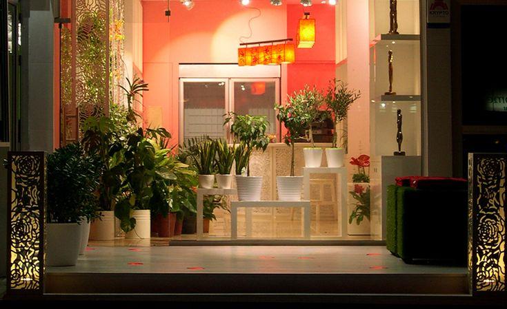 Μελέτη διακόσμησης και φωτισμού σε ανθοπωλείο. Δείτε περισσότερα έργα μας στο  http://www.artease.gr/interior-design/emporikoi-xoroi/