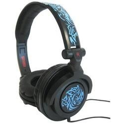 Maxell Amplified Heavy Bass Headphones (tribal Blueglow) (pack of 1 Ea)