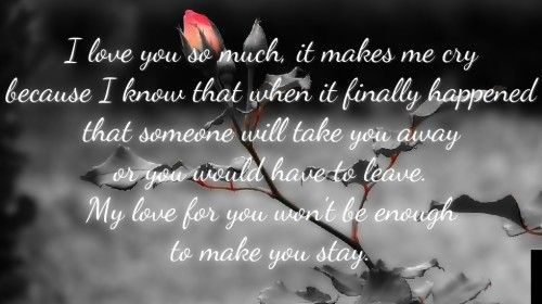 Messed Up Life Quotes: 25 Love Poems To Make Her Cry