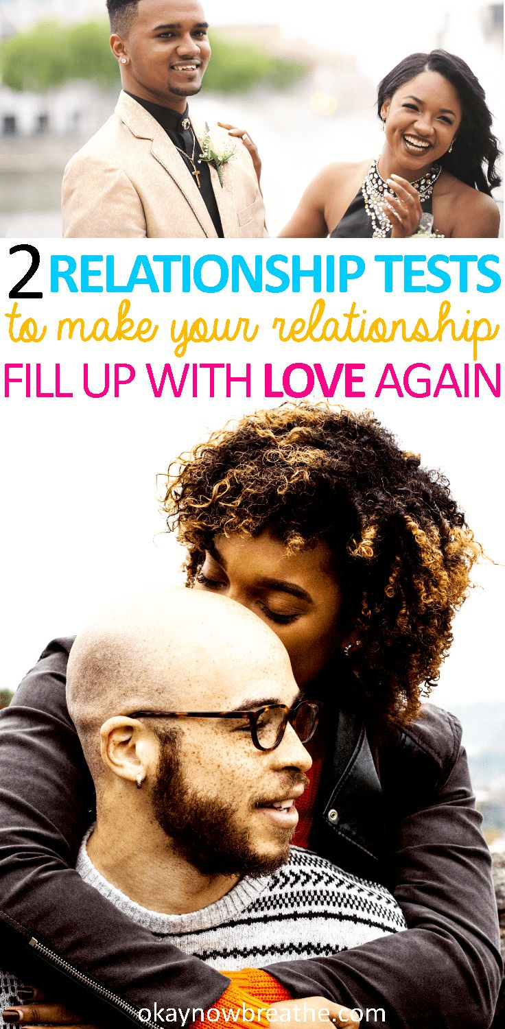 Every relationship goes through rough patches. Sometimes the problem isn't either one of you. These two relationship tests will reset your relationship and aim to make it healthy again. #lovelanguage #relationship #marriage #love