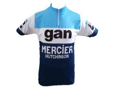 Maillot Manches Courtes GAN  MERCIER - Marcarini
