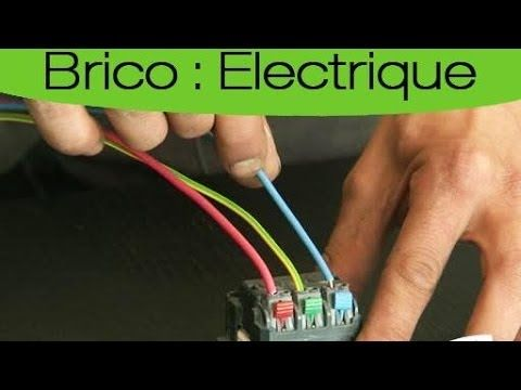Bricolage Maison - L'extension d'une installation électrique - YouTube