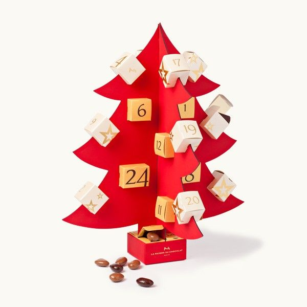 Advent calendar from La Maison du Chocolat
