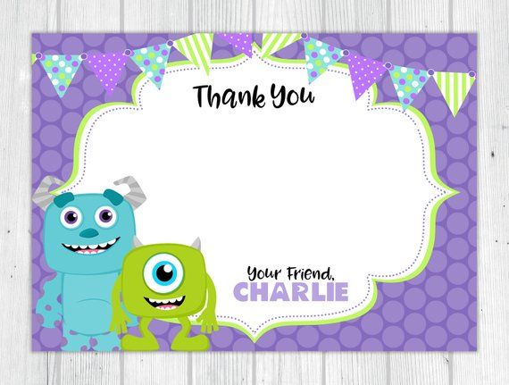 Please Read Shop Policies Before Purchasing Click Here For Shop Policies Www Etsy Co Monsters Inc Invitations Monsters Inc Baby Shower Monster Inc Party