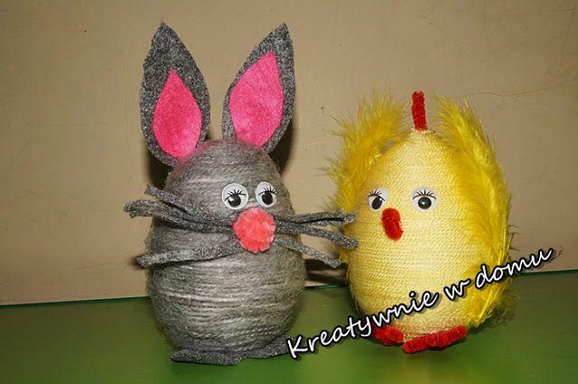 Wielkanocne zabawy z włóczką | Kreatywnie w domu
