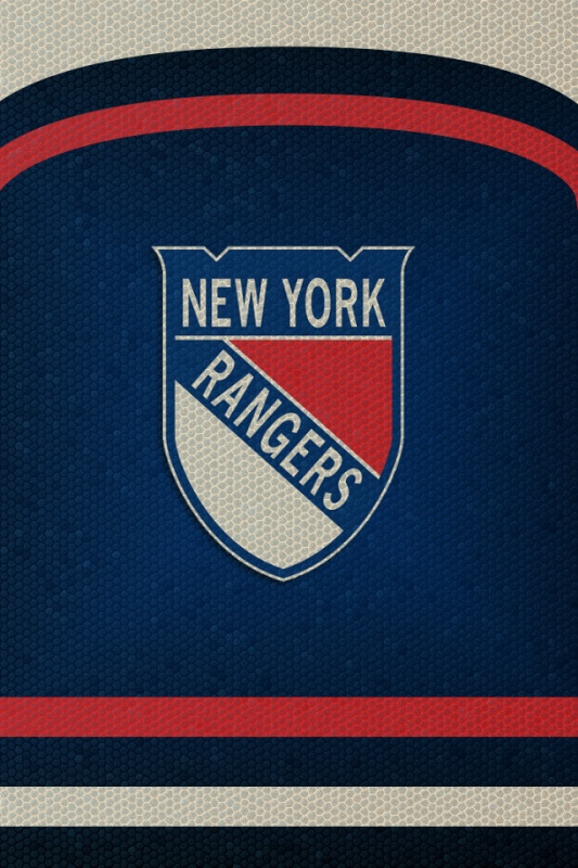 NYR Winter Classic Logo IPhone Wallpaper