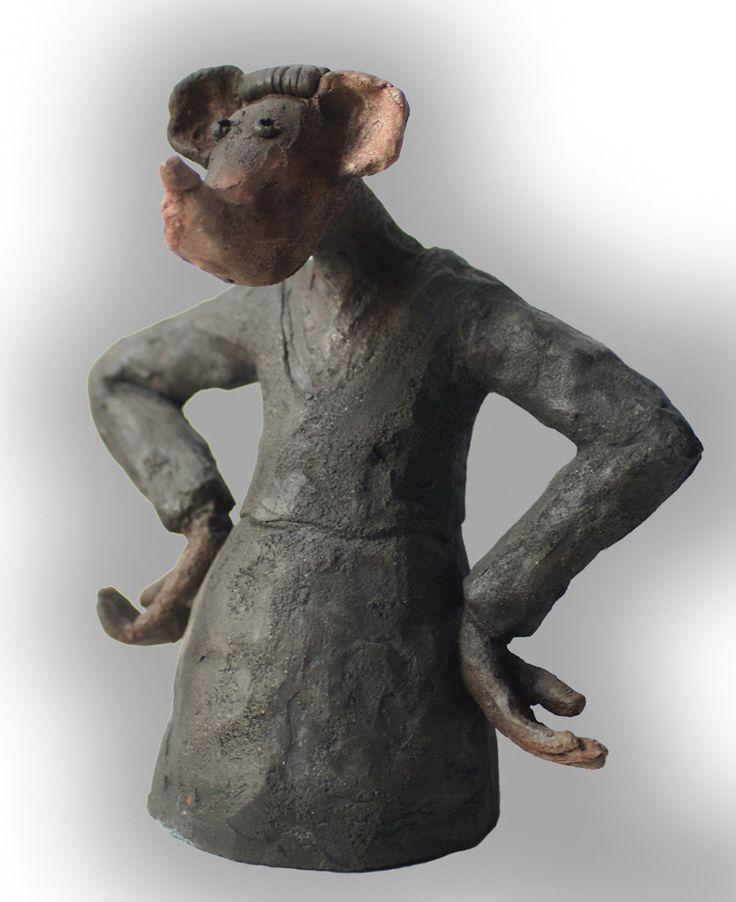 ceramic raku  by J G