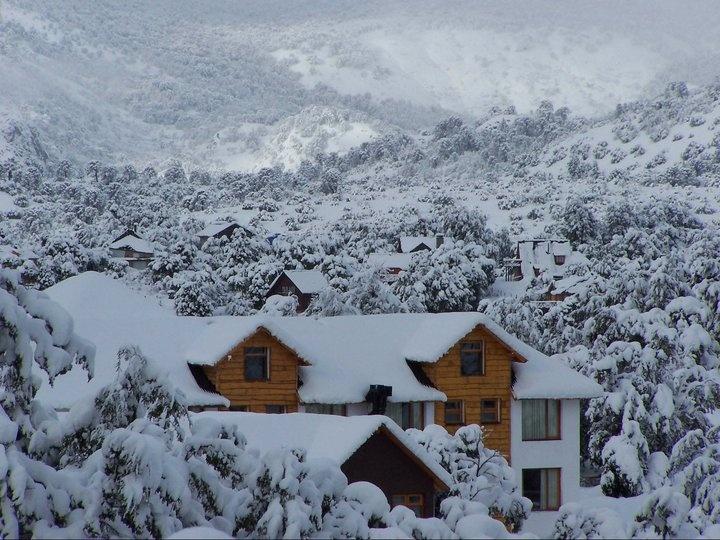 Winter in Villa Pehuenia, Neuquen, Argentina.