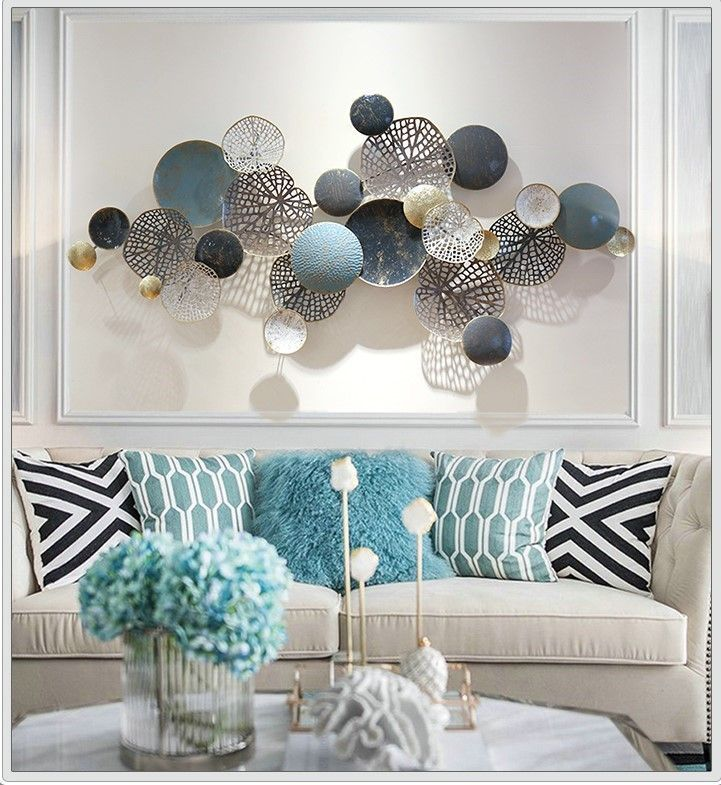 3d Nordic Style Abstract Wall Decoration In 2021 Wall Art Decor Living Room Metal Wall Decor Living Room Wall Decor Living Room