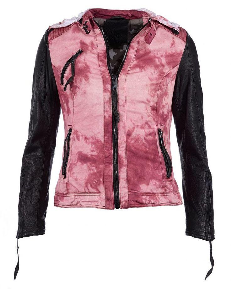 #Maze #Damen #MAZE #Jacke, #Damen #Island - Jacke, Damen Island Trendige und leichte Jacke der Marke Maze. Diese Jacke ist der perfekte Begleiter für die warme Jahreszeit. Die Jacke wird mit einem Reißverschluss geschlossen und ist durch den Farbverlauf und die bemusterte Kapuze ein echter Blickfang. Die Ärmel sind aus echtem Leder. Der körpernahe Schnitt macht diese Jacke vielseitig kombinierbar. Material: Obermaterial und Futter: 100% Baumwolle / Ärmel: 100% Polyester Pflegehinweis…