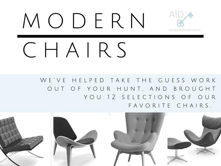 Modern Luxury Chairs We Love U2014 Affordable Interior Design Miami