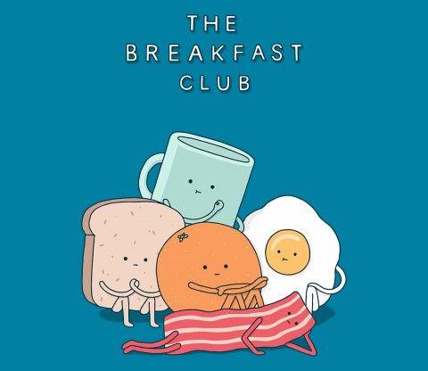 The Breakfast Club TEE BY HAASBROEK