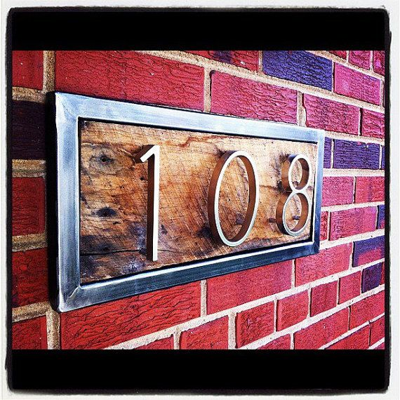 17 Best Ideas About Address Signs On Pinterest Address Numbers Diy House Numbers And House