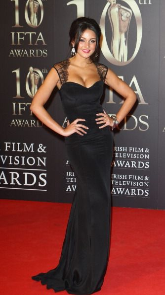Michelle Keegan attends the Irish Film and Television Awards at the... News Photo 161241575