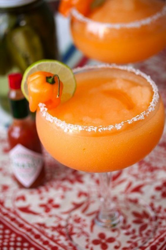 Cajun margarita: http://www.stylemepretty.com/living/2014/05/05/the-ultimate-margarita-round-up/