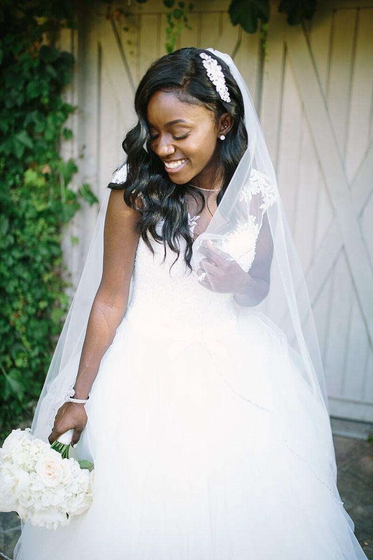 Elegant Outdoor Atlanta Wedding - bridal style