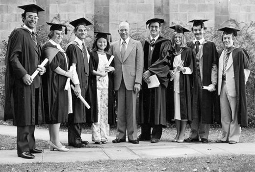 1979- first AGSM students