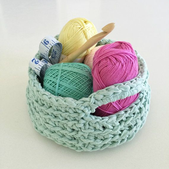 Crochet basket pattern / crochet pattern
