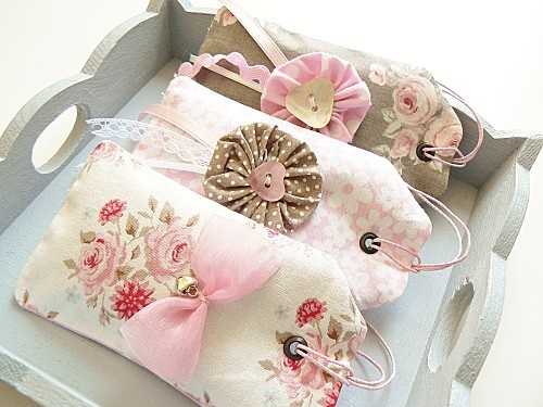 Sweet little tag sachets