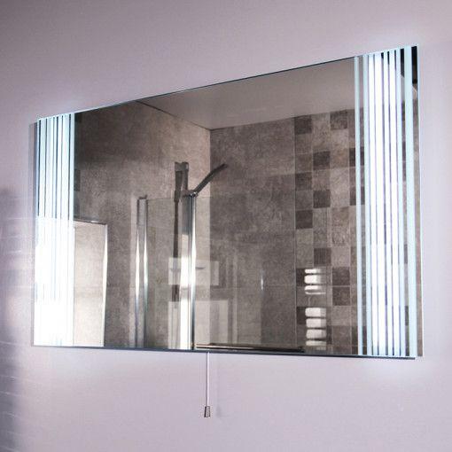 Die besten 25+ Badspiegel beleuchtet Ideen auf Pinterest - badezimmerspiegel mit tv
