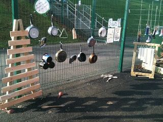 Outdoor Music Wall — Creative STAR Learning | I'm a teacher, get me OUTSIDE here!
