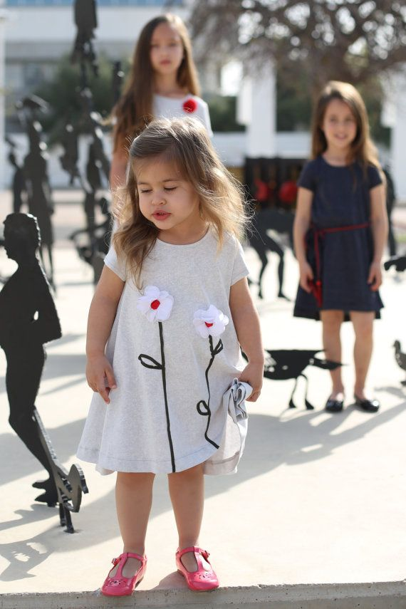 Christmas dresses for little girls A beautiful girls christmas dress. Twirly christmas dress for girls, made with soft, delicate, a high quality 100% cotton.