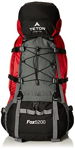 TETON Sports Fox5200 Internal Frame Backpack (Red) - check it out at... http://backpackingandcampingessentials.com/backpacking-backpacks/teton-sports-fox5200-internal-frame-backpack-red/