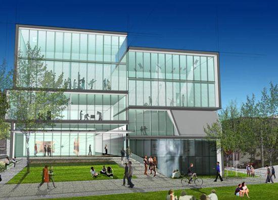 Diller Scofidio Renfro Creative Arts Centre At Brown University Rhode Isl