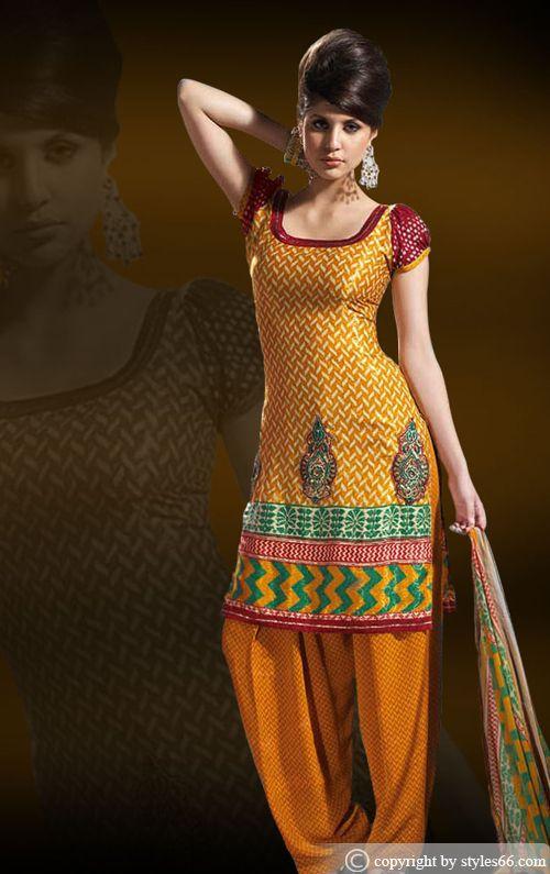Here view punjabi salwar kameez for indian women indian for Indian punjabi kothi designs