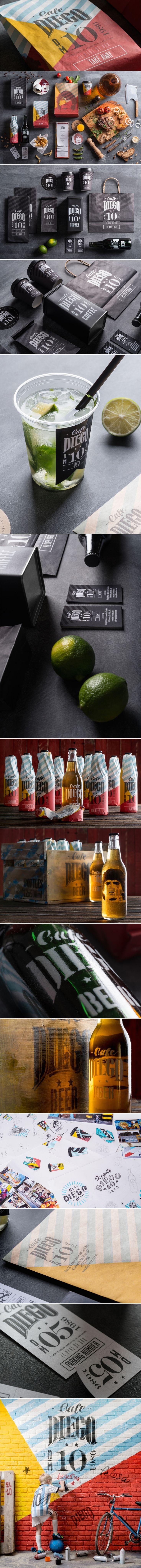 Cafe Diego — The Dieline | Packaging & Branding Design & Innovation News
