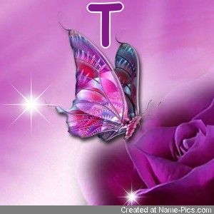 Pin By Deborah Fowler Kyle On Friends Names Initials Butterfly