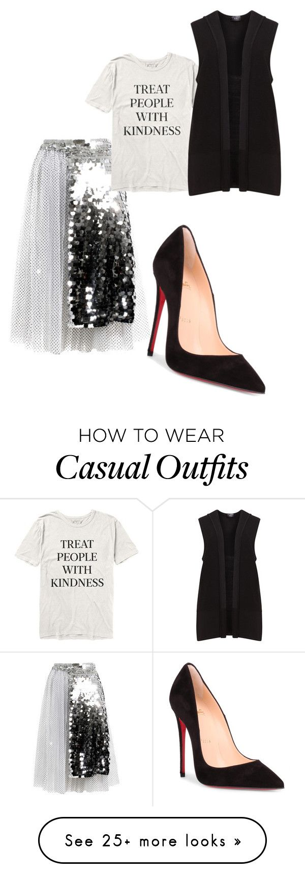 """""""Casual year"""" by juanita-cherrell-taylor on Polyvore featuring Anouki and Christian Louboutin"""
