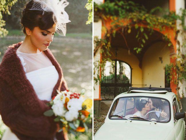 Rustic Country Chic Italian Wedding Inspiration- Le Jour du Oui on Green Wedding Shoes - Cascina Farisengo (CR)