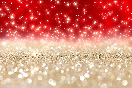 7x5ft(210x150cm) Fotografie Studio Hintergrund Bright Bling Bling Hintergrund rot Hintergründe für Kinder Foto Hintergründe für Weihnachten Party