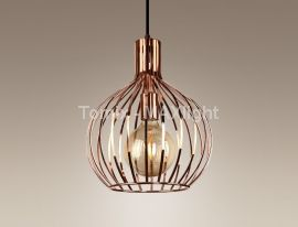 Lampa wisząca SUMBA M miedź (P0183) Max light