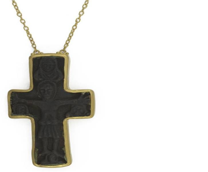 ♛ GURHAN's Museum Collection features ancient bronze pieces which are from over 5,000 years ago. Some of the elements held more important meaning, such as a protective amulet or cross, representative of the increasing expansion of Christianity at that time.
