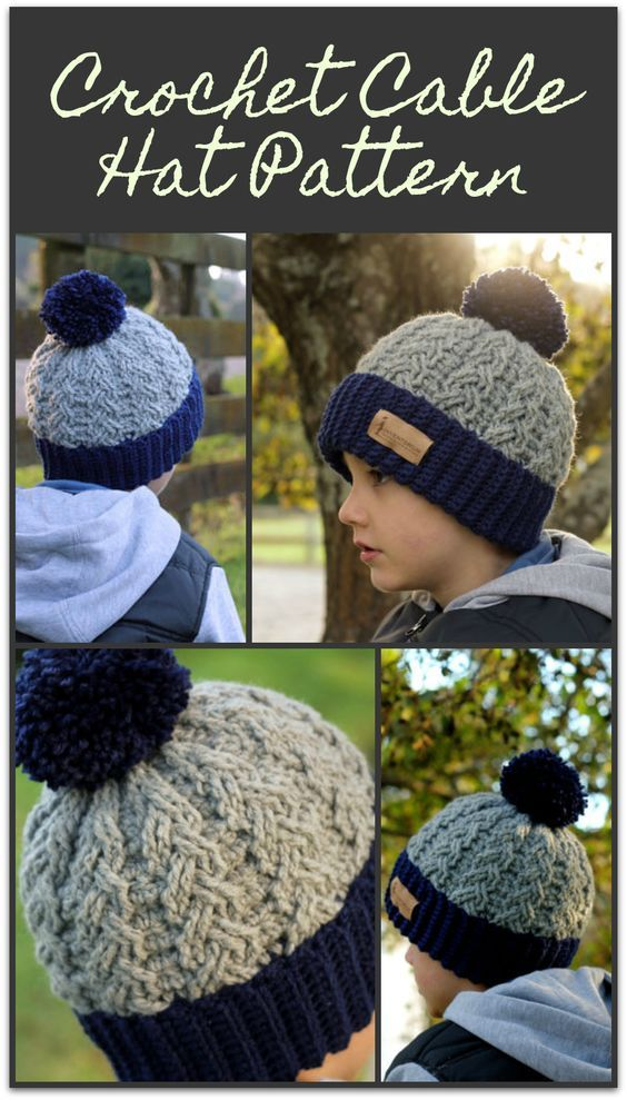 This Is A Great Hat And So Many Color Options I Love Cable Patterns