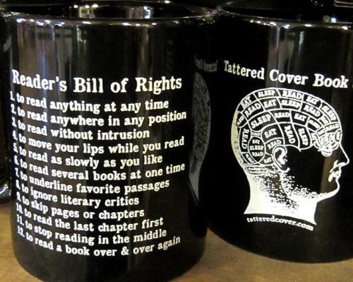 Reader's Bill of Rights mugs