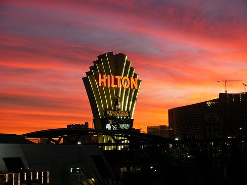 another one bites the dust.. goodbye las vegas hilton. elvis performed 58 consecutive sold out concerts here in 1976 while he lived in his penthouse suite on the 30th floor.