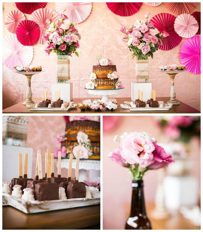 Elegant 30th Birthday Party Via Karas Ideas KarasPartyIdeas