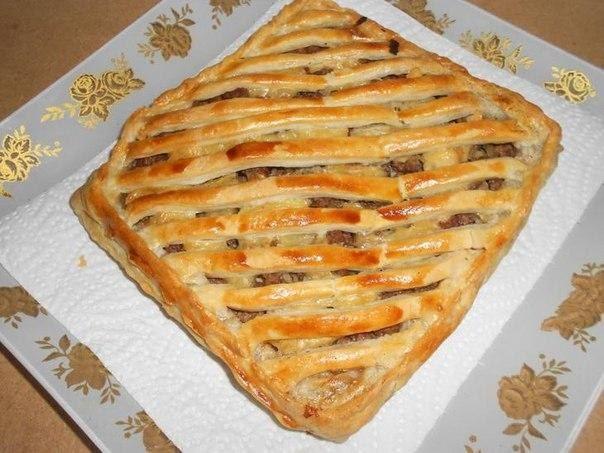 Spanish meat pie