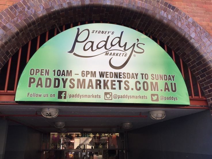 Paddy's Market  Cheapest Price for Shopping Mon - Tue is closed