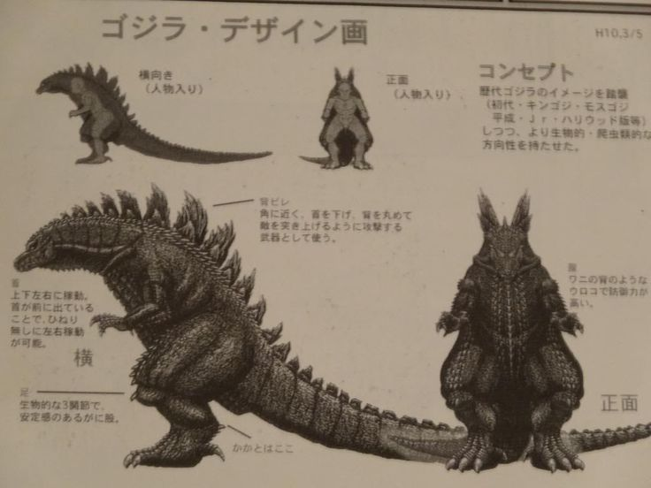 Suit Design Concepts for Godzilla - Godzilla 2014 Gallery